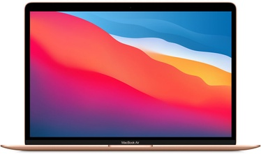 Nešiojamas kompiuteris Apple MacBook Air Retina / M1 / RUS / Gold, 8GB/256GB, 13.3""
