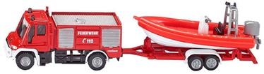 Siku Fire Engine With Boat 1636