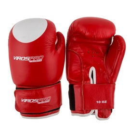 VirosPro Sports Boxing Gloves 10OZ Red SG-1001A