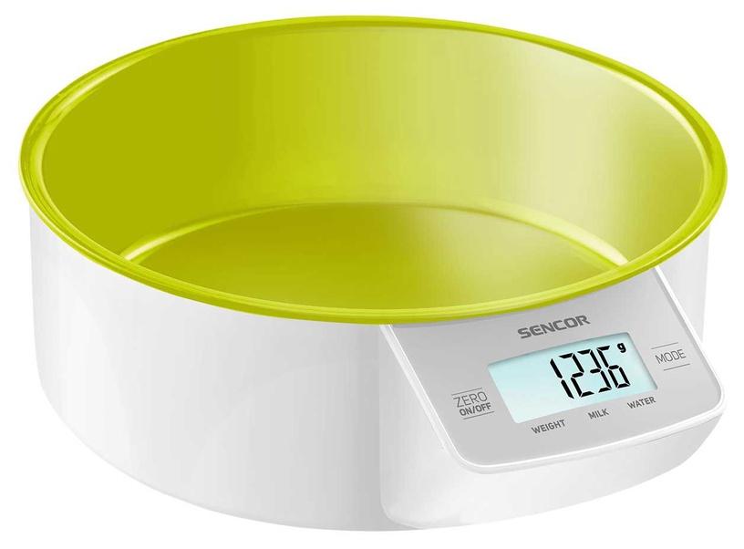 Elektrooniline köögikaal Sencor SKS 4004GR, roheline