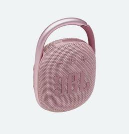 Беспроводной динамик JBL JBL CLIP4 PINK, розовый, 5 Вт