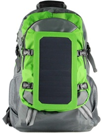 PowerNeed Backpack with Solar Charger 6.5W Green