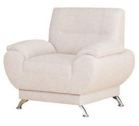Kanclers Livonia Armchair Fabric Cream