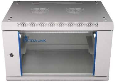 Extralink 6U 600x450 Wall-Mounted Rackmount Cabinet Gray