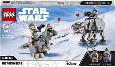 Конструктор LEGO Star Wars Микрофайтеры: AT-AT™ против таунтауна 75298, 205 шт.
