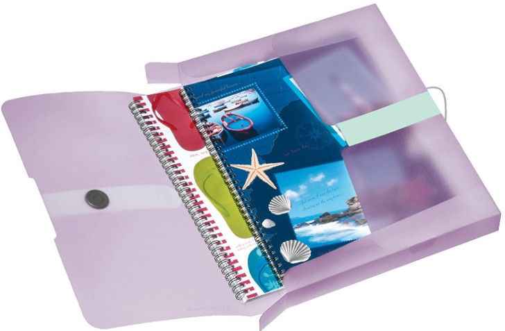 Herlitz File Box 11408994 Translucent Lilac
