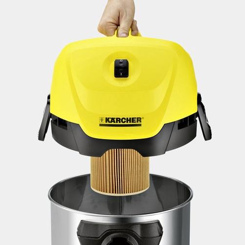 Dulkių siurblys Karcher WD 3 Premium, 1000W