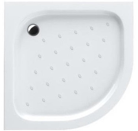 Schaedler Standard S Shower Tray with Legs 80x16x80 White