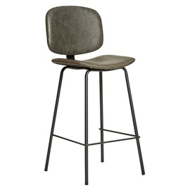 Baro kėdė H84, pilka/juoda