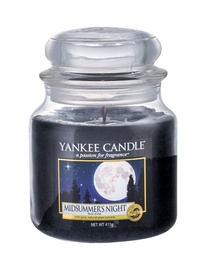 Ароматическая свеча Yankee Candle Classic Medium Jar Midsummers Night, 411 г
