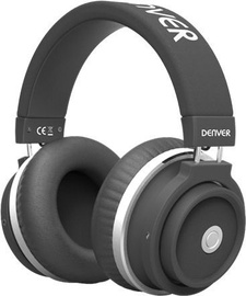 Denver BTH-250 Bluetooth Over-Ear Headphones Black