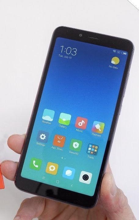 Mobilusis telefonas Xiaomi Redmi 6A 2/16GB Dual, juodas