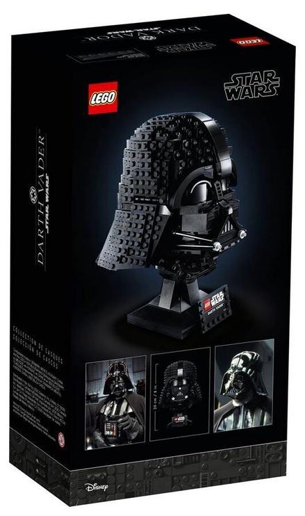 Конструктор LEGO Star Wars Darth Vader Helmet 75304, 834 шт.