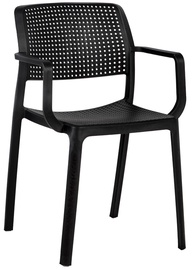 Home4you Chairs Pipa 4pcs Black