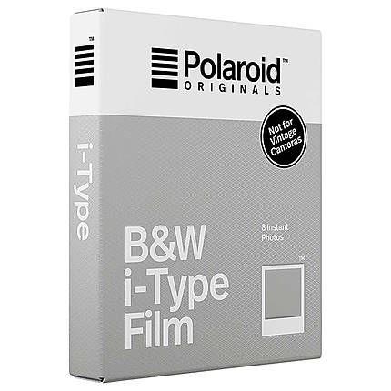 Polaroid B&W i-Type Film 8 Sheets