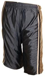 Lühikesed püksid Bars Mens Basketball Shorts Black/Gold 184 XXL