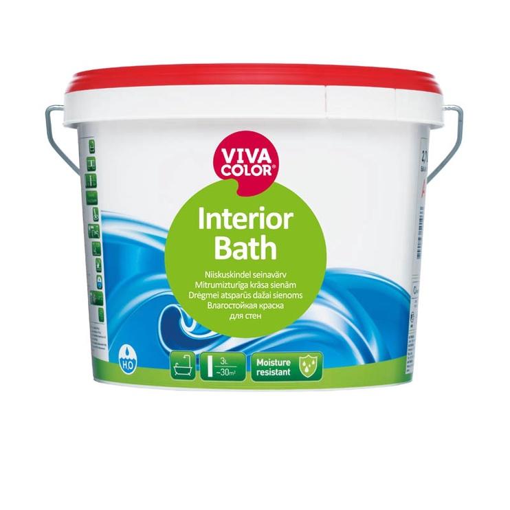 KRĀSA SIENĀM INTERIOR BATH A0,9L (VIVACOLOR)