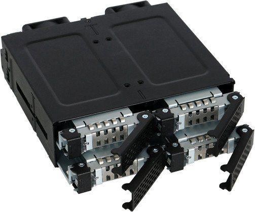 "Icy Dock ToughArmor MB699VP-B 4x2.5"" NVMe U.2"
