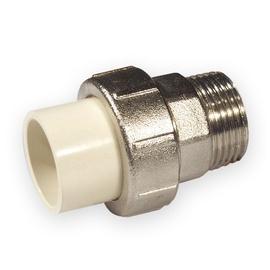Adapteris PVC-C, Nibco 4733 - 405, 1/2IN išorinis sriegis/klijuojamas vidus