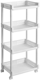 Songmics Storage Rack White 36.5x86cm
