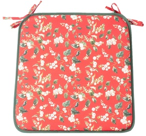 Home4you Winter Garden Chair Pad 39x39cm Red
