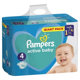 Pampers Active Baby S4 76