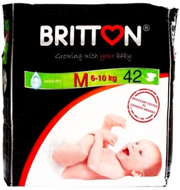 Britton Extra Dry Diapers M 42pcs
