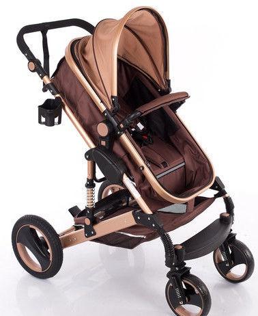Universalus vežimėlis Louke Universal Kinder Haki