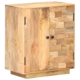 Шкаф VLX Solid Mango Wood, коричневый, 60 см x 35 см x 70 см