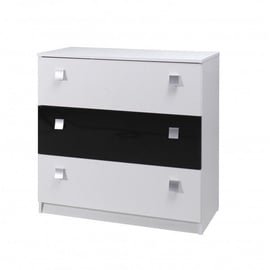 Maridex Lux Chest Of Drawers Black/White
