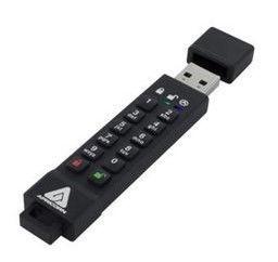 USB atmintinė Apricorn Aegis Secure Key 3z, USB 3.0, 128 GB