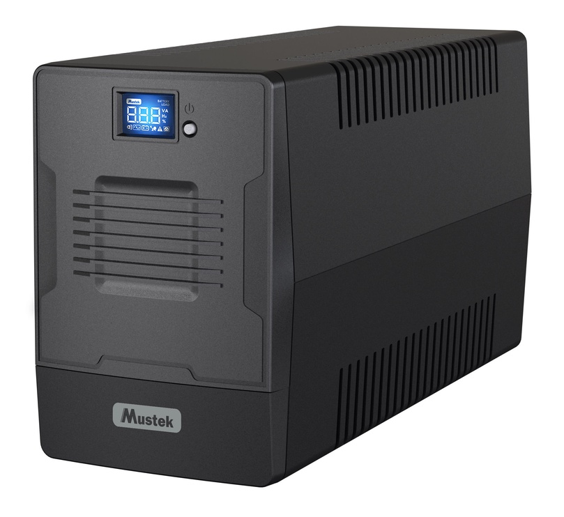Mustek PowerMust 1000 LCD Line-Interactive UPS