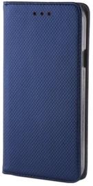 Mocco Smart Magnet Book Case For LG K10 2018 Blue