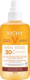 Apsaugininis purškiklis nuo saulės Vichy deal Soleil Sun Enhancing Tan Protective Solar Water SPF30, 200 ml