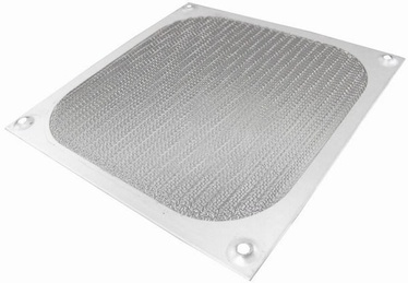 AAB Aluminum Filter/Grill 80mm Silver