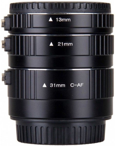 BIG Macro Extension Tube Set for Canon EOS 3pcs