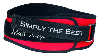 Mad Max Simply the Best Belt Red XL
