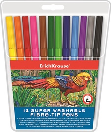 ErichKrause Super Washable Fibre-Tip Pens 33050
