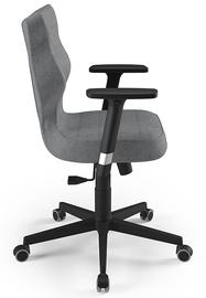 Biroja krēsls Entelo Nero AL03, melna/pelēka