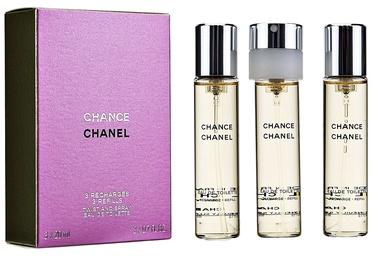Tualettvesi Chanel Chance 3x20ml EDT