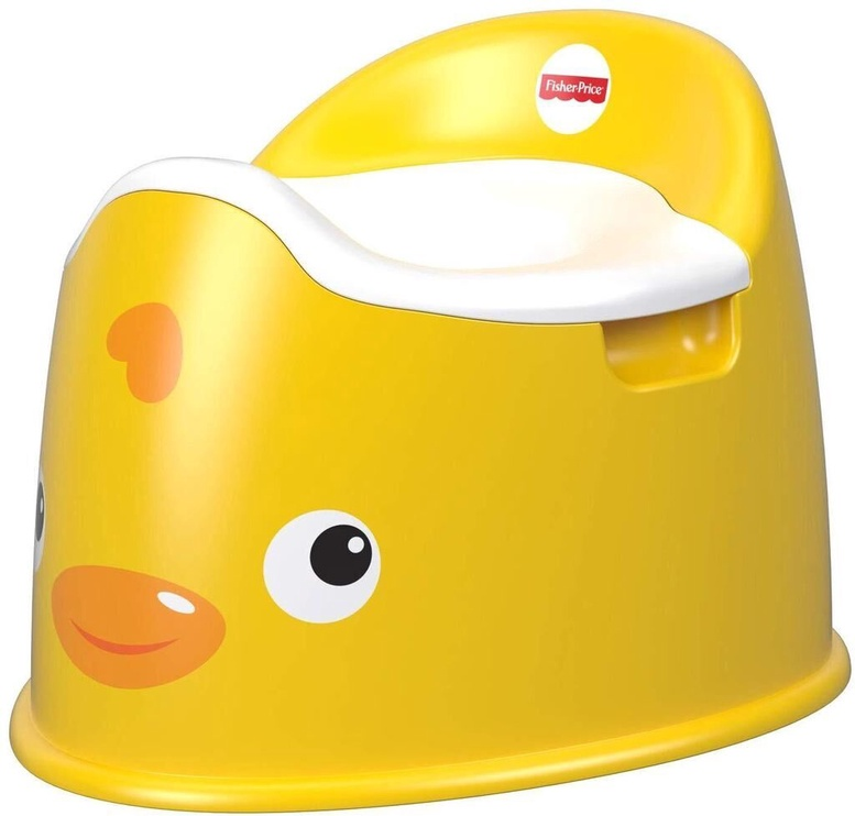Детский горшок Fisher Price Duck GCJ81, желтый