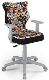 Детский стул Entelo Duo Size 5 ST28, черный/серый/многоцветный, 375 мм x 1000 мм