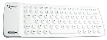 Gembird Bluetooth KB-BTF1-W-US White EN