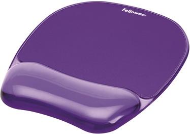 Fellowes Gel Crystal Purple Wrist Rest 9144104
