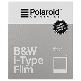 Polaroid B&W i-Type Film 8 Sheets