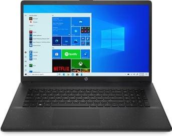 Ноутбук HP 17 17-CN0009NW, Intel® Celeron® N4020, 4 GB, 256 GB, 17.3 ″