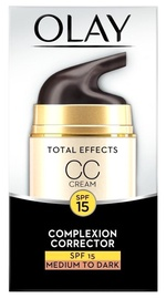 Olay Total Effects CC Cream SPF15 50ml Medium to Dark