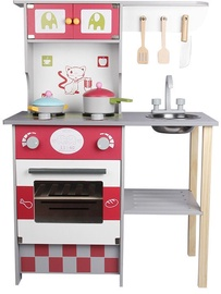 Funikids Wooden Kitchen With Accessories