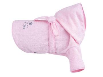 Amiplay Spa Bath Housecoat For Dog 50cm Cocker Spaniel Pink