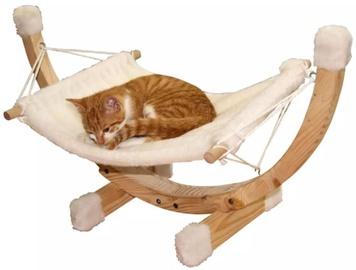 Кровать для животных Kerbl Hammock Siesta, кремовый, 730 мм x 360 мм